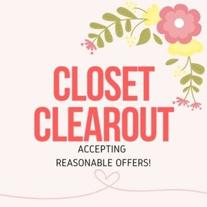 Closet Clearout